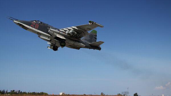 Российская боевая авиация на авиабазе Хмеймим в Сирии - Sputnik Латвия
