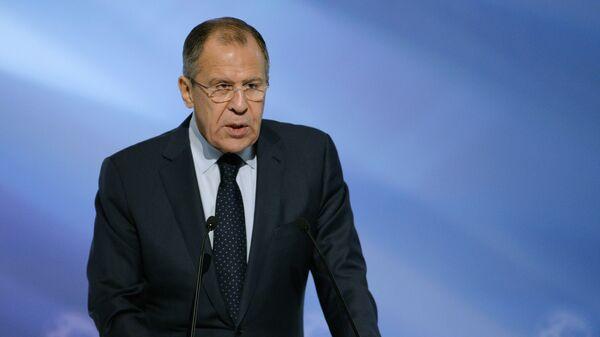 Министр иностранных дел России Сергей Лавров - Sputnik Latvija