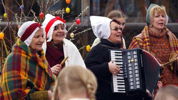 Пасхальный праздник в Латвии - Sputnik Латвия