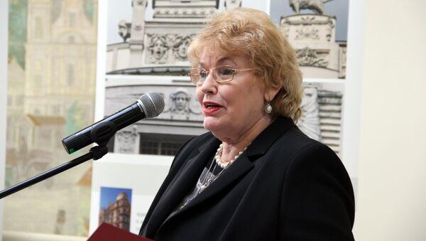 Председатель комитета образования, культуры и спорта Эйжения Алдермане - Sputnik Latvija