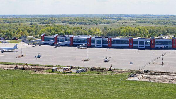 Аэропорт Храброво в Калининградской области. Архивное фото - Sputnik Latvija