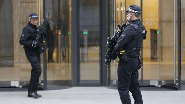 Policijas speciālo uzdevumu vienība Londonā. Foto no arhīva - Sputnik Latvija