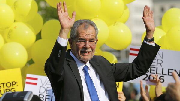 Austrijas prezidents Aleksandrs van des Bellens - Sputnik Latvija