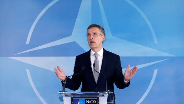 NATO ģenerālsekretārs Jenss Stoltenbergs - Sputnik Latvija