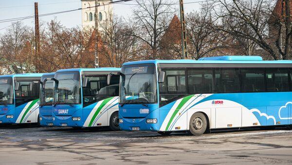 Автобусы пригородного сообщения. - Sputnik Латвия