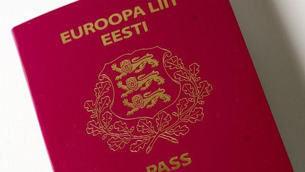 Igaunijas pilsoņa pase - Sputnik Latvija