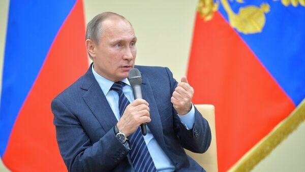 Krievijas prezidents Vladimirs Putins - Sputnik Latvija