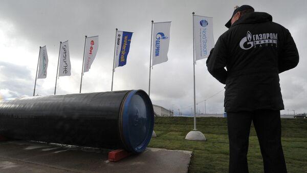 Пуск в эксплуатацию второй ветки газопровода Северный поток - Sputnik Латвия