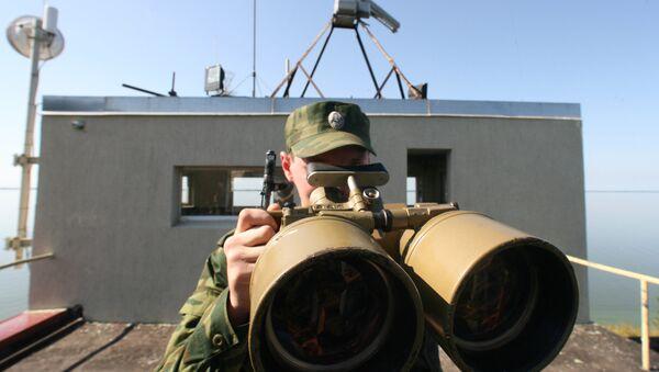 Погранзастава Западная в акватории Калининградского залива - Sputnik Latvija