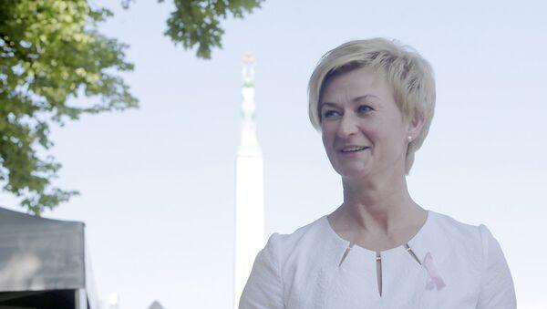 Супруга Президента Латвии Ивета Вейоне - Sputnik Латвия