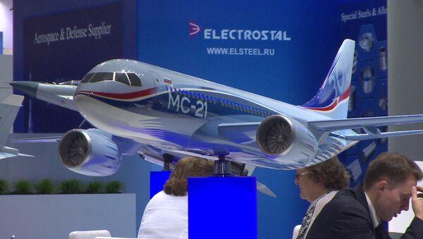 Российские самолеты Як-152, МС-21 и другие экспонаты на авиасалоне в Берлине - Sputnik Латвия