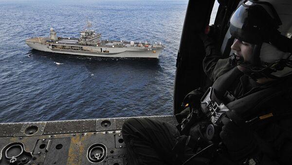 Флагманский корабль флота США Mount Whitney - Sputnik Латвия