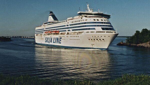 Паром Silja Symphony компанииTallink Silja - Sputnik Латвия