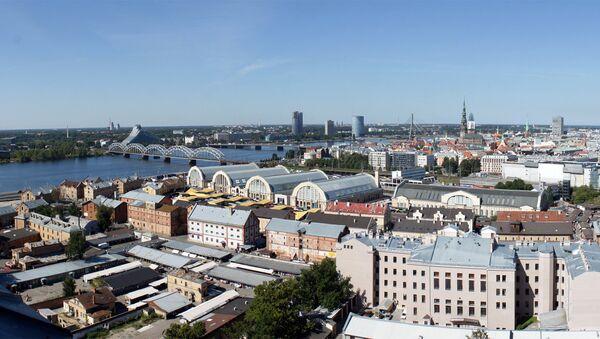 Панорама Риги - Sputnik Латвия