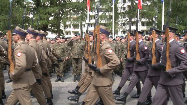 Церемония открытия масштабных учений НАТО Анаконда-2016 в Польше - Sputnik Latvija