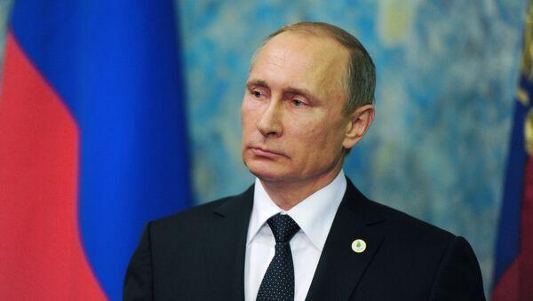 Президент РФ В.Путин - Sputnik Latvija