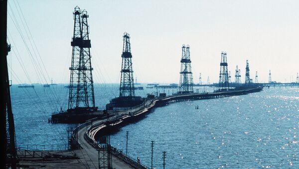 Нефтяные вышки - Sputnik Латвия