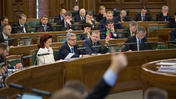 Заседание Сейма - Sputnik Латвия