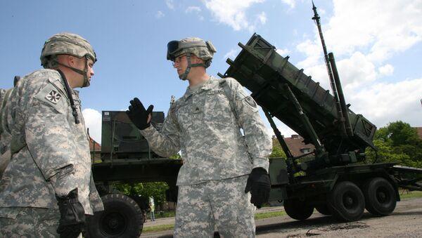 Американские ракеты Patriot - Sputnik Латвия