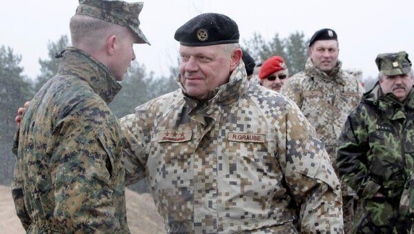 Военные учения НАТО Operation Summer Shield на полигоне Адажи в Латвии - Sputnik Latvija