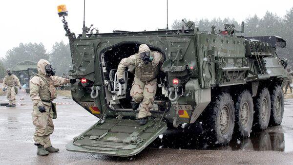 Военные учения НАТО Operation Summer Shield на полигоне Адажи в Латвии - Sputnik Латвия