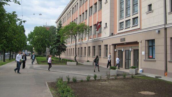 Rīgas 13. vidusskola. Foto no arhīva - Sputnik Latvija