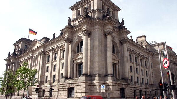 Здание Бундестага (Федерального Собрания Германии) - Sputnik Latvija