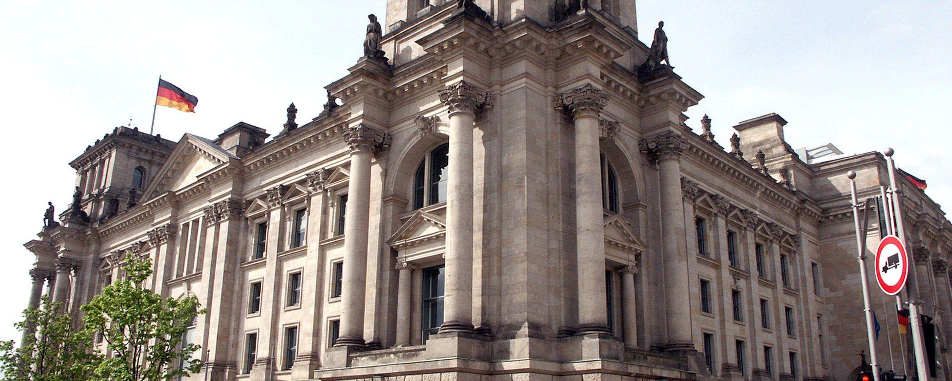 Здание Бундестага (Федерального Собрания Германии) - Sputnik Латвия, 1920, 22.09.2021