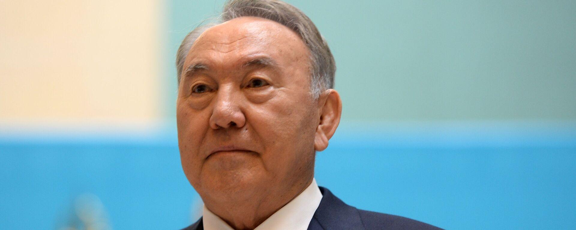 Президент Казахстана Нурсултан Назарбаев - Sputnik Латвия, 1920, 20.03.2019