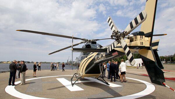 Вертолетная площадка в Риге - Sputnik Латвия