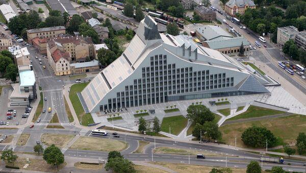 Замок света Латвийская национальная библиотека - Sputnik Латвия