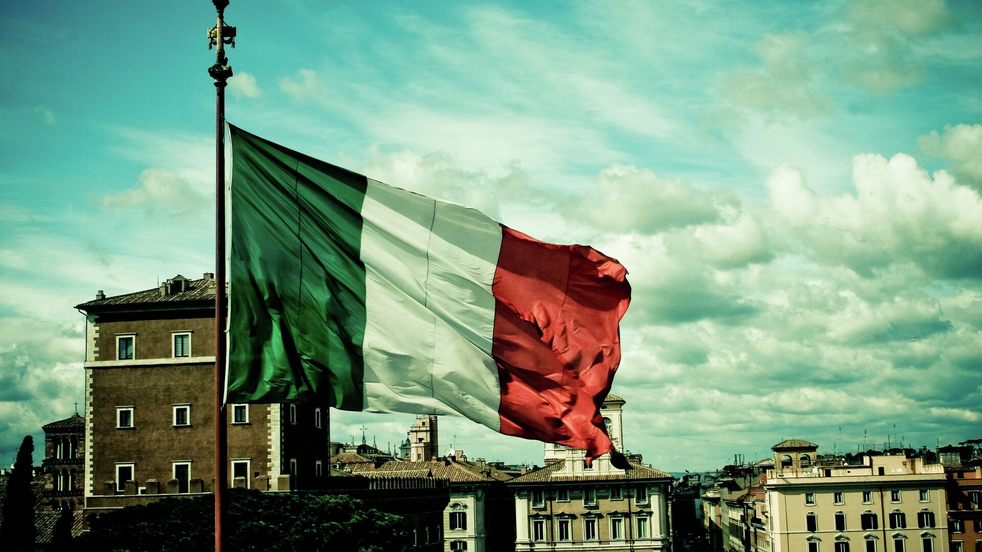 Флаг Италии - Sputnik Латвия, 1920, 17.09.2021
