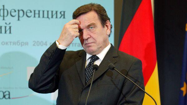 Gerhards Šrēders. Foto no arhīva - Sputnik Latvija