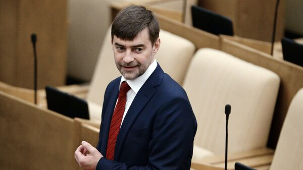 Заместитель председателя Государственной Думы РФ Сергей Железняк - Sputnik Латвия