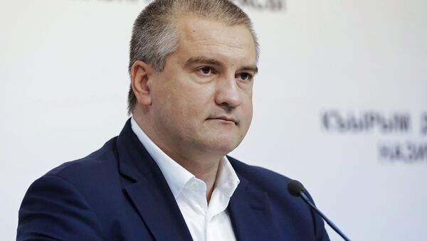 Глава Республики Крым Сергей Аксенов - Sputnik Latvija