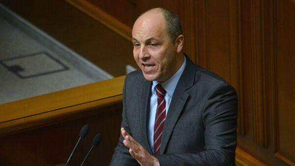Секретарь Совета национальной безопасности и обороны Украины Андрей Парубий - Sputnik Латвия