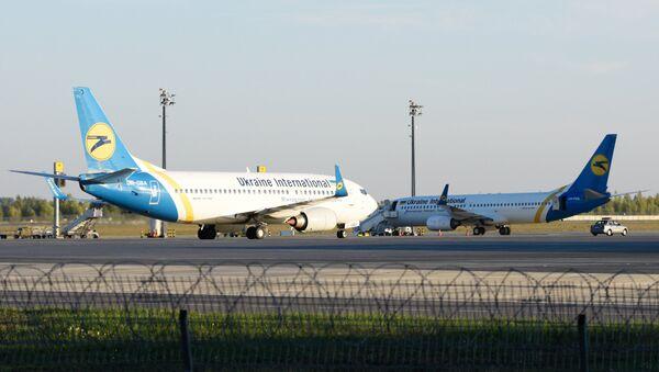 Самолеты в аэропорту Борисполь - Sputnik Latvija