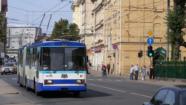Троллейбус №15 в Риге - Sputnik Latvija