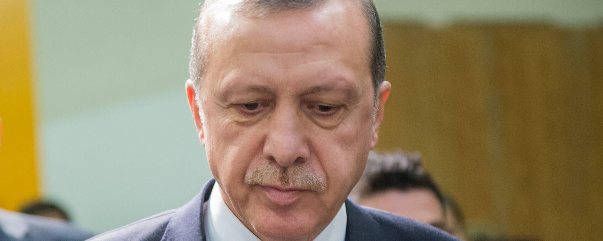 Turcijas prezidents Redžeps Tajips Erdogans. Foto no arhīva - Sputnik Latvija, 1920, 20.11.2016