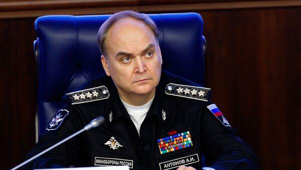 Krievijas aizsardzības ministra vietnieks Anatolijs Antonovs - Sputnik Latvija