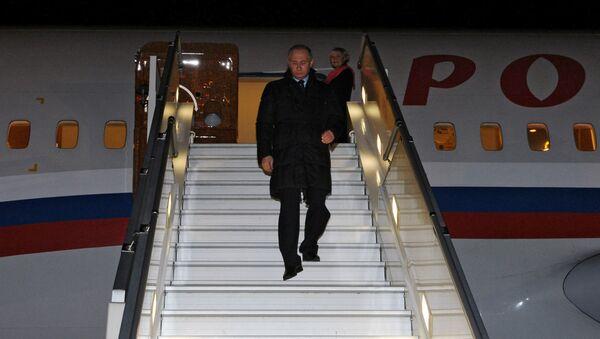 Рабочая поездка президента РФ В.Путина - Sputnik Латвия