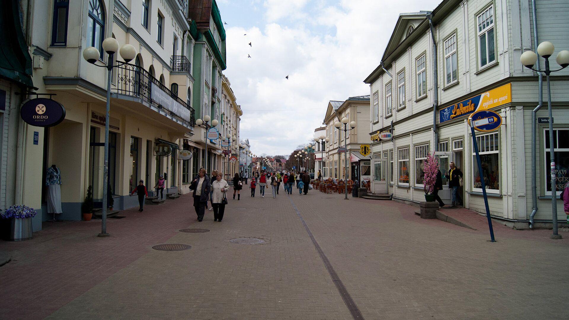 Туристическая улица Юрмалы - Sputnik Латвия, 1920, 30.09.2021