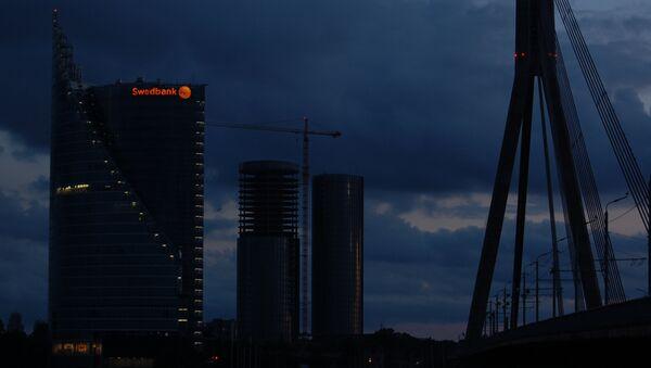 Здание Swedbank в Риге - Sputnik Латвия