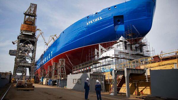 Головной атомный ледокол Арктика - Sputnik Latvija