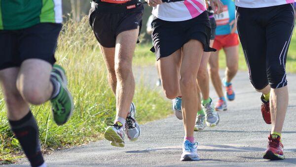 Во время марафона - Sputnik Латвия
