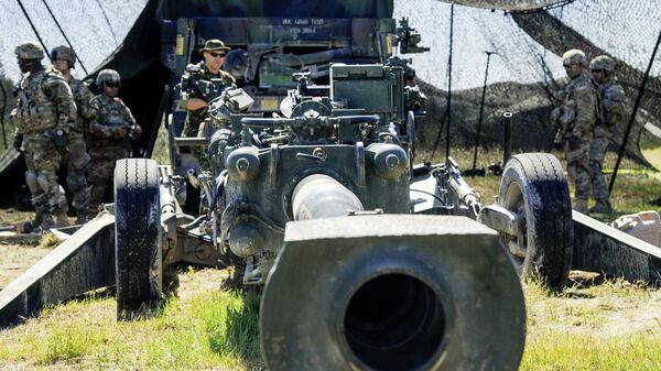 155-мм гаубица M777 - Sputnik Латвия