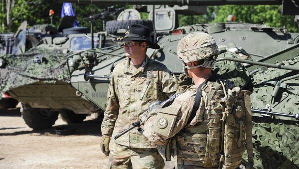 Военнослужащие армии США - Sputnik Латвия
