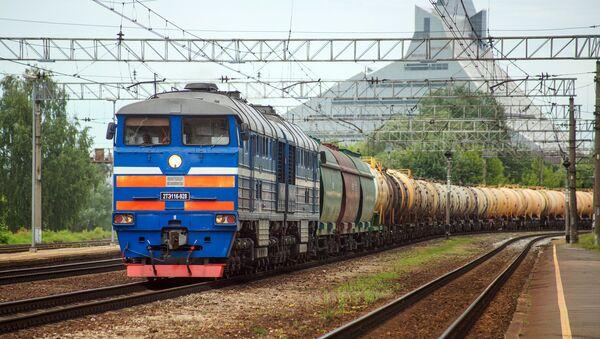 Vilciens. Foto no arhīva - Sputnik Latvija