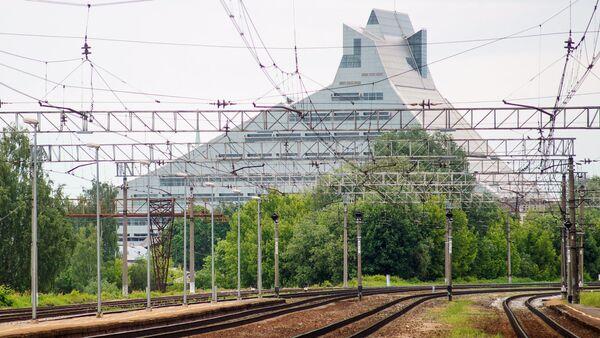 Железнодорожные пути в Латвии - Sputnik Латвия