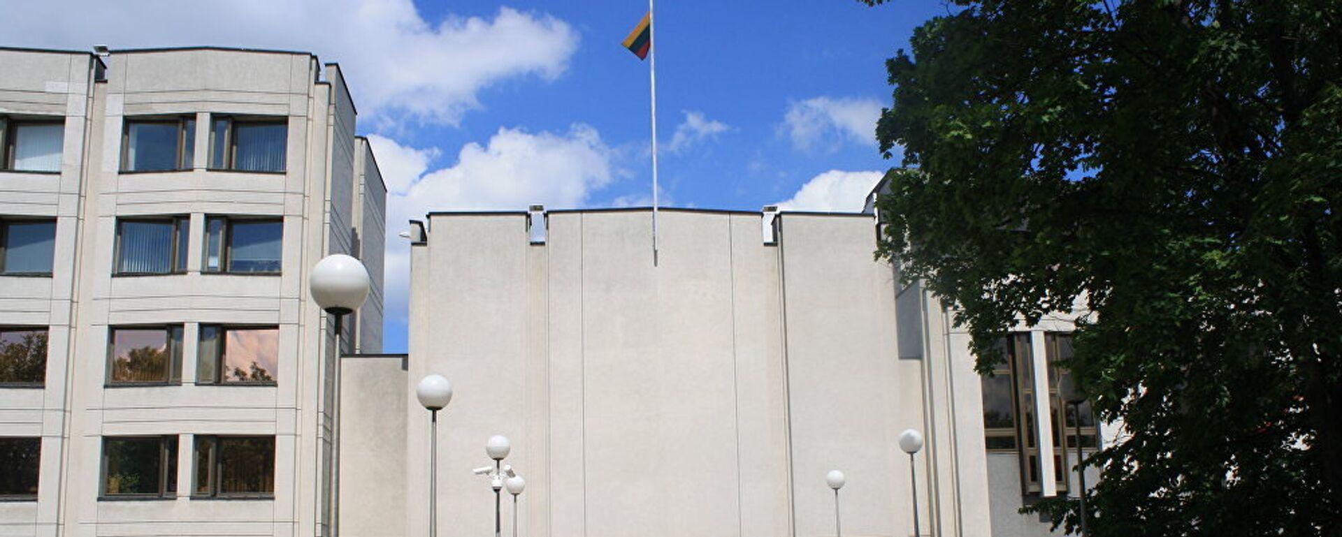 Здание правительства Литвы в Вильнюсе - Sputnik Латвия, 1920, 30.07.2021